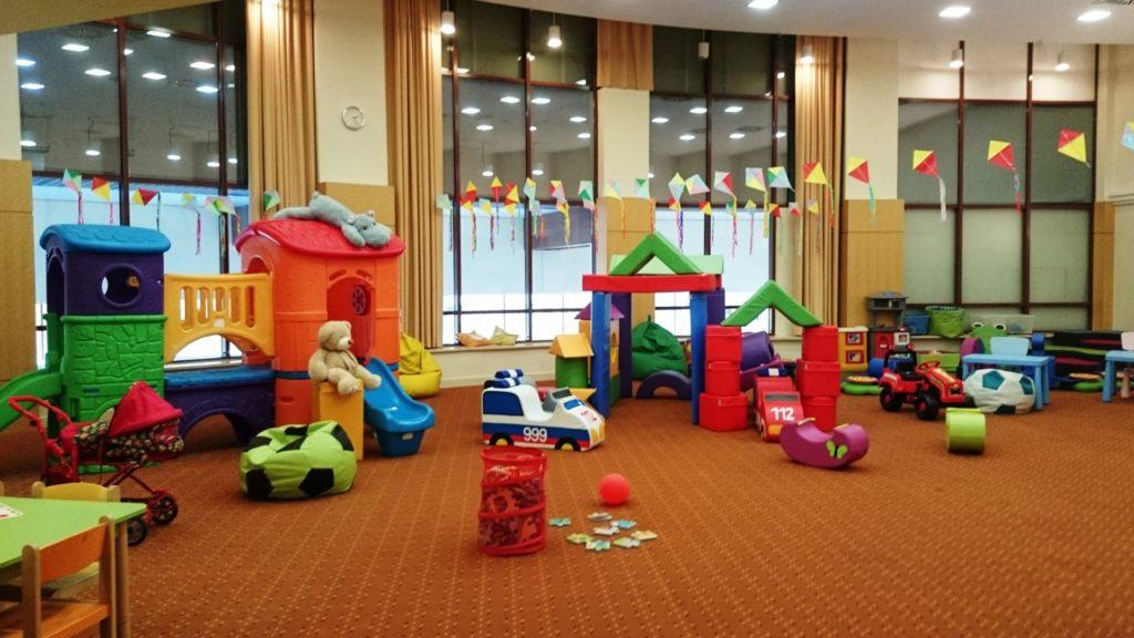 Dom Zdrojowy Sala zabaw