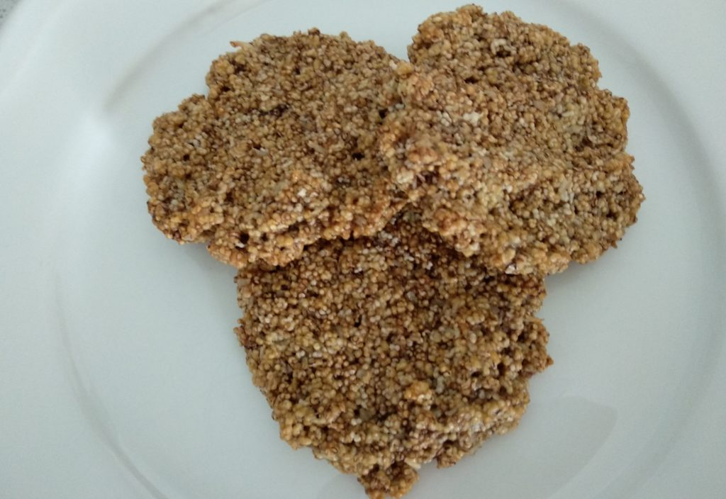 Błyskawiczne ciasteczka amarantusowe
