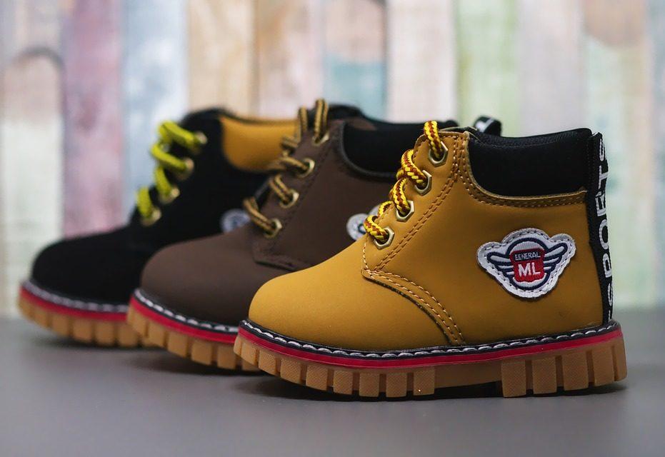 pierwsze buty