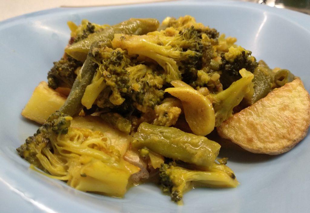 Wegetariańskie curry dla dzieci