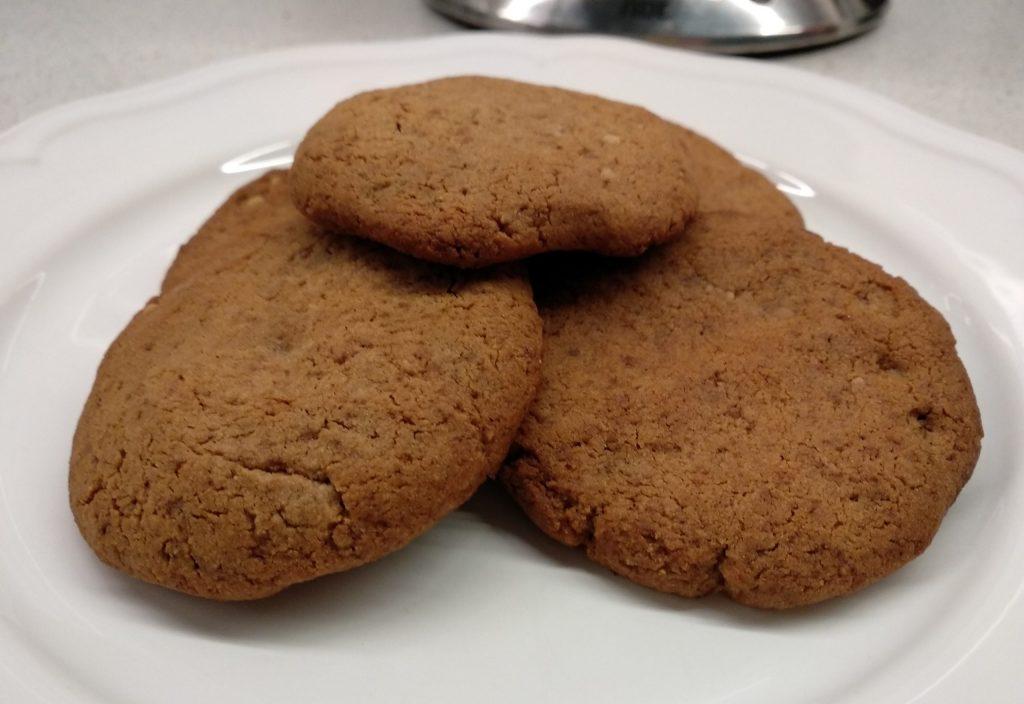 Kruche ciasteczka z mąki kasztanowej dla dzieci