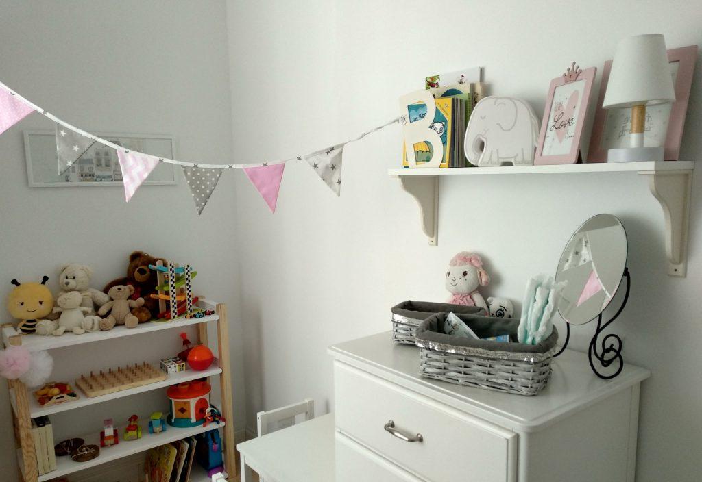 Kącik do zabawy w pokoju dziecka - mój pomysł