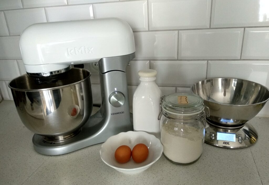 Naleśniki z mąki kasztanowej dla dzieci i niemowląt