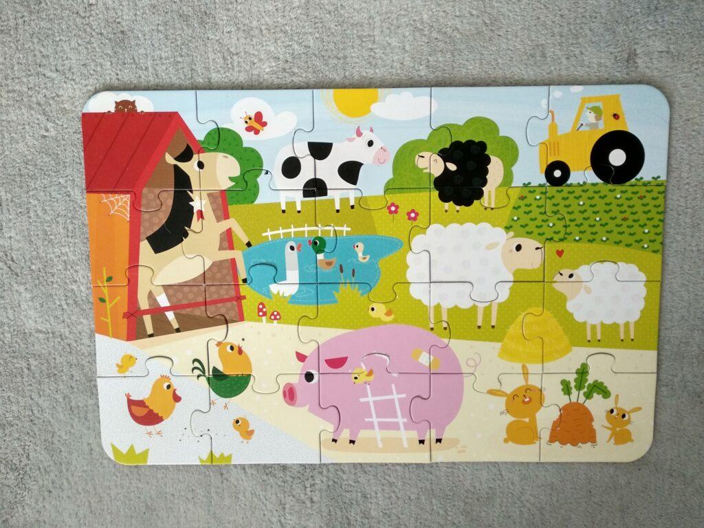 Najlepsze puzzle dla dwulatka