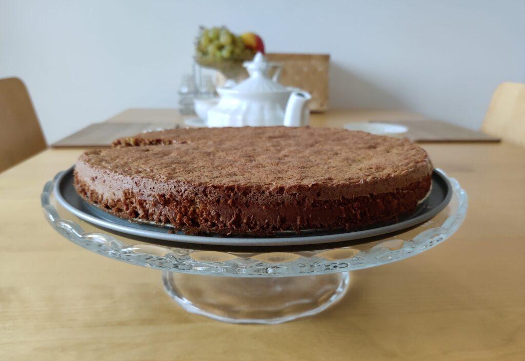 Bezglutenowe ciasto migdałowe bez mąki i mleka