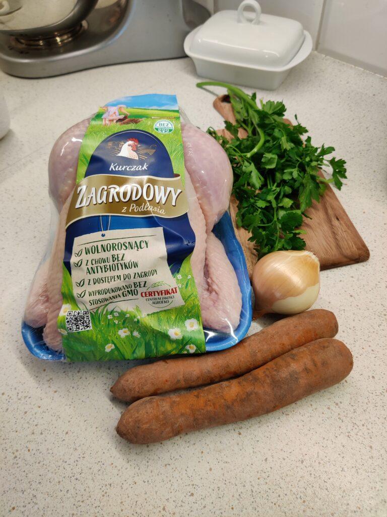 Kurczak pieczony dla dzieci
